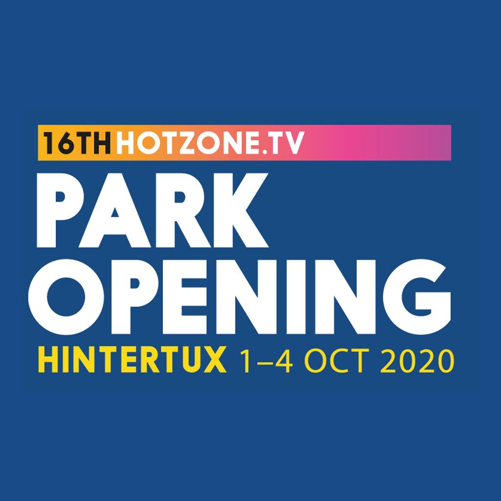 Hintertux Hotzone.tv Opening october 1-4, 2020